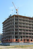Costruzione degli edifici residenziali, Fotografie Stock