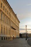 Costruzione degli stati maggiori a St Petersburg Fotografia Stock Libera da Diritti