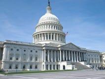 Costruzione degli Stati Uniti Campidoglio Immagini Stock Libere da Diritti