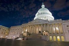 Costruzione degli Stati Uniti Campidoglio Fotografia Stock Libera da Diritti