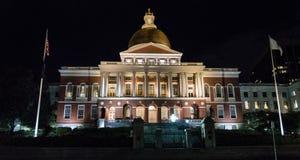 Costruzione dei capitali dello Stato del Massachusetts, Boston Fotografia Stock Libera da Diritti