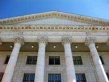 Costruzione dei capitali dello Stato dell'Utah Fotografia Stock Libera da Diritti