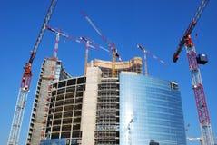 Costruzione dei grattacieli Fotografia Stock Libera da Diritti