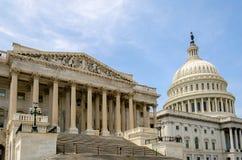 Costruzione del Campidoglio degli Stati Uniti Immagini Stock Libere da Diritti