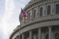Costruzione del Campidoglio degli Stati Uniti Fotografie Stock Libere da Diritti