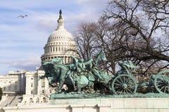 Costruzione del Campidoglio degli Stati Uniti Fotografia Stock Libera da Diritti