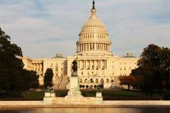 Costruzione del Campidoglio degli Stati Uniti, Washington DC, U Fotografia Stock Libera da Diritti
