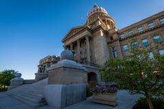 Costruzione del Campidoglio dello stato dell'Idaho a Boise, identificazione immagine stock libera da diritti