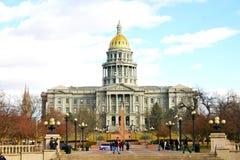 Costruzione del Campidoglio dello stato di Colorado Immagine Stock Libera da Diritti