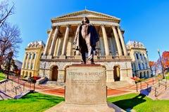 Costruzione del Campidoglio di Illinois Fotografia Stock Libera da Diritti