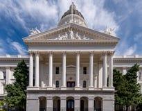 Costruzione del Campidoglio di Sacramento immagini stock