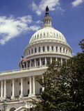 Costruzione del Campidoglio - Washington DC - gli Stati Uniti Fotografia Stock