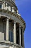 Costruzione del capitale dello Stato con le colonne Fotografie Stock