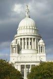 Costruzione del capitale dello Stato della provvidenza Rhode Island Fotografie Stock Libere da Diritti