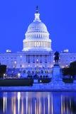 Costruzione del capitol degli Stati Uniti Fotografia Stock