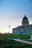 Costruzione del capitol dello stato dell'Utah a Salt Lake City Immagini Stock Libere da Diritti