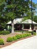 Costruzione del carosello al parco di Pullen in Raleigh, Nord Carolina Fotografia Stock Libera da Diritti