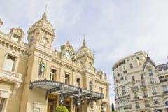 Costruzione del casinò di Monte Carlo Fotografie Stock Libere da Diritti
