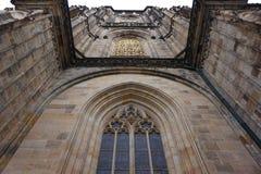 Costruzione del castello di Praga Fotografie Stock Libere da Diritti