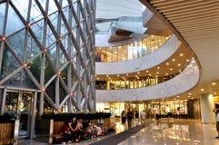 Costruzione del centro commerciale Fotografia Stock
