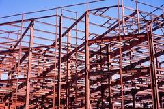 Costruzione del centro commerciale Fotografia Stock Libera da Diritti