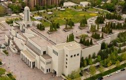Costruzione del centro di conferenze di LDS Fotografie Stock Libere da Diritti