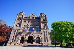 Costruzione del centro di Toronto Fotografia Stock