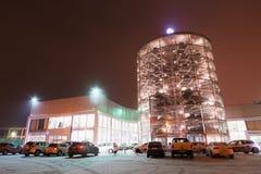 Costruzione del centro Varshavka di Volkswagen Immagine Stock Libera da Diritti