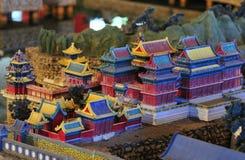 Costruzione del cinese tradizionale Fotografia Stock Libera da Diritti