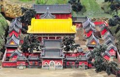 Costruzione del cinese tradizionale Fotografia Stock