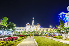 Costruzione del comitato della gente s in Saigon, Vietnam Fotografie Stock