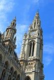 Costruzione del comune di Vienna Fotografie Stock