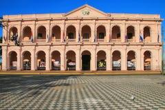 Costruzione del consiglio comunale (Cabildo) a Asuncion, Paraguay immagine stock