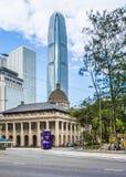 Costruzione del consiglio legislativo di HONG KONG in Hong Kong Fotografie Stock