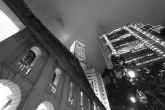 Costruzione del Consiglio Legislativo a Hong Kong Fotografia Stock