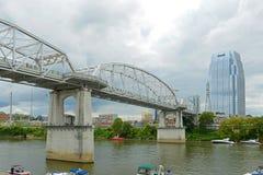 Costruzione del culmine e ponte, Nashville, TN, U.S.A. Fotografia Stock Libera da Diritti