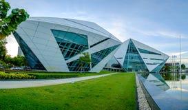 Costruzione del diamante dei BU all'università di Bangkok Fotografie Stock