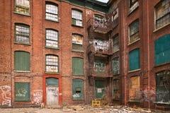 Costruzione del ghetto Fotografie Stock Libere da Diritti