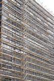 Costruzione del grattacielo Immagine Stock