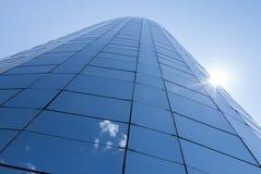 Costruzione del grattacielo dell'ufficio Immagine Stock