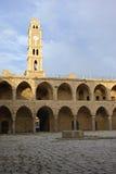 Costruzione del limite dell'ottomano di Al-Umdan di Khan Fotografie Stock