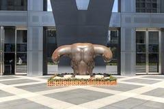 Costruzione del mercato azionario a Shenzhen Fotografie Stock Libere da Diritti