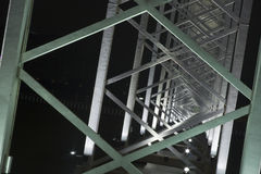 Costruzione del metallo Fotografia Stock Libera da Diritti