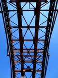 Costruzione del metallo nel cielo Fotografia Stock