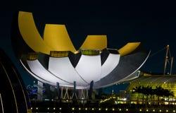 Costruzione del museo di Artscience a Singapore Immagine Stock