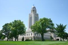 Costruzione del Nebraska Campidoglio Fotografie Stock
