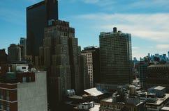 Costruzione del Newyorkese Immagini Stock