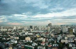 Costruzione del paesaggio a Bangkok, Tailandia Fotografia Stock