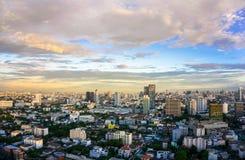 Costruzione del paesaggio a Bangkok, Tailandia Immagine Stock Libera da Diritti