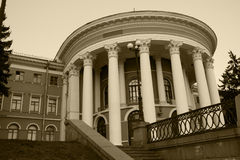 Costruzione del palazzo di ottobre Immagine Stock
